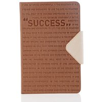 Doodle Motivation Success Diary A5 Stationary Notebook Hard Bound Brown