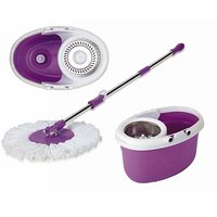 Magic Mop Floor Cleaner With Dual Spinners 360' (As Seen On Tv) - 6797264