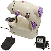 MINI SEWING MACHINE 4 IN 1 WITH FREE ELECTRIC ADAPTOR & FOOT PEDAL