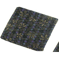 Cushion Filler Silk Cotton  With Velvet Cover-Navy Blue Color Square