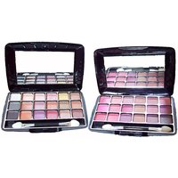 Eye Shadow 18 In 1 - Eyeshadow 8818 2pcs