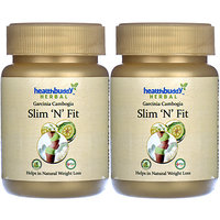 Healthbuddy Herbal Slim 'N' Fit, 2 Packs Of 30 Capsules Each.