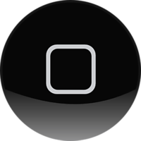 Apple Home Button Apple Home Button Black