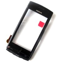 Original Touch Screen Digitizer Glass For Nokia 500 N500 With Frame
