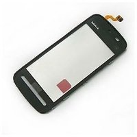 Touch Screen Digitizer Glass For Nokia 5233 Black