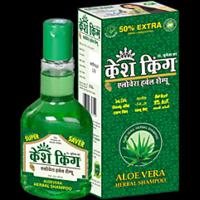 Kesh King Aloevera Herbal Shampoo 120ml Pack Of 3