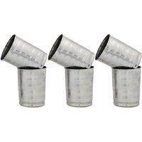 Stainless Steel Glasses Set Of 6