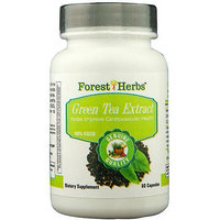 Forest Herbs Green Tea Extract 400mg 60 Caplets