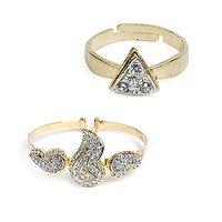 Itz About U Stone Bracelet With Ring (BGT 42)