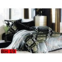 Printed Cotton Bedsheet (Glazed Cotton Material)