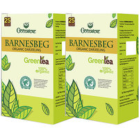 Goodricke BARNESBEG Organic Darjeeling Green Tea 25 Tea Bag Pack Of 2 Total 50 Tea Bags