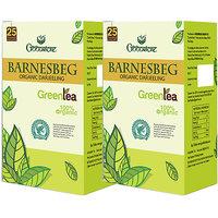 Goodricke BARNESBEG Organic Darjeeling Green Tea 25 Tea Bag Pack Of 2 Total 50 Tea Bags
