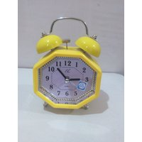 Table Alarm Clock With Bell & Light - (2836)