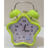 Table Alarm Clock With Bell & Light - (2853)