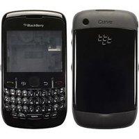 Blackberry 8520 Curve Housing Faceplate Cover Case Body - BLACK