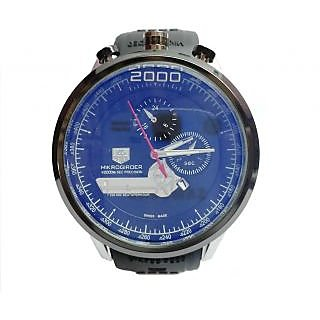T  Mikrogirder 2000 Silver Black Watch For Mens Replica - 6847820
