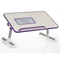 Ergonomic Portable Aluminium Etable Adjustable Laptop Table With Fan Low Price