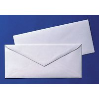White Official Envelopes Pack Of 100 Envelopes
