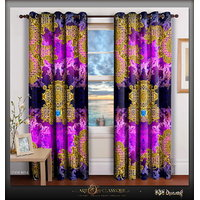 Devarshy Pink Decorative Home Room Beautiful Curtains Drapes