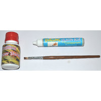 Quilling Paper Shiner ,Quilling Silicon Glue & Brush For Quilling Works