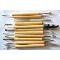 Terracotta Jewellery Pottery Tools Kit - Multipurpose Tool Kit - 11 Tools