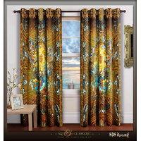Devarshy Designer Premium Digital Print Door Window Curtains