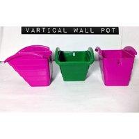 VERTICAL POT (WALL HANGING) PACK OF 5 PCS MULTI COLORS