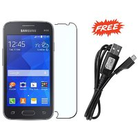 Samsung Galaxy Star 2 SM-130E PCS Matte Screen Guard & FREE Samsung Data Cable