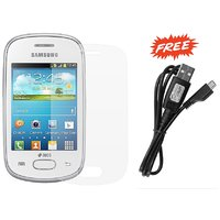 Samsung Galaxy Star GTS5282 PCS Matte Screen Protector & FREE Samsung Data Cable