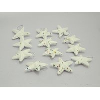 Beautiful Decorative Star For Christmas Tree 6 Pcs