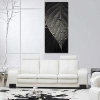 Leaf Like Modern Wall Art Painting -2 Frames (76x25 Cm) 2Frames0002
