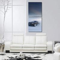 Cars Like Modern Wall Art Painting -2 Frames (76x25 Cm)) 2Frames0008