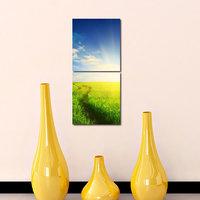 Firm Like Modern Wall Art Painting -2 Frames (76x25 Cm) 2Frames0012