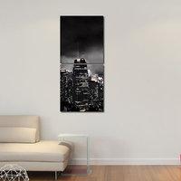Cities Like Modern Wall Art Painting -2 Frames (76x25 Cm) 2Frames0013