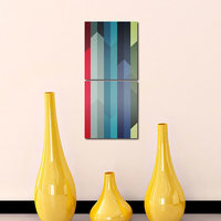 Printing Like Modern Wall Art Painting -2 Frames (76x25 Cm) 2Frames0016