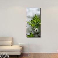 Leafs Like Modern Wall Art Painting -2 Frames (76x25 Cm) 2Frames0019