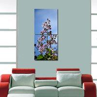 Flower Modern Wall Art Painting -2 Frames (76x25 Cm) 2Frames0021