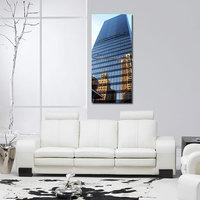 Glass Building Modern Wall Art Painting -2 Frames (76x25 Cm) 2Frames0023
