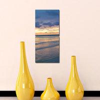 Cloudy Weather Modern Wall Art Painting -2 Frames (76x25 Cm) 2Frames0027