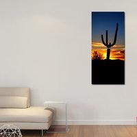 Golden Weather Wall Art Painting -2 Frames (76x25 Cm) 2Frames0038