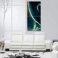Printings Design Wall Art Painting -2 Frames (76x25 Cm) 2Frames0042