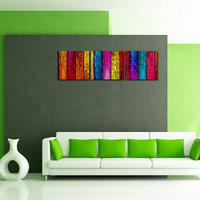 Colorful Squire Design Like Modern Wall Art Painting Frames0091