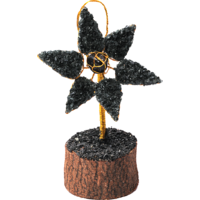 Satyamani Energized Star Onyx Crystal Tree Card Holder For Office