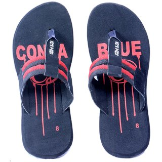 Contablue Black Flip Flops