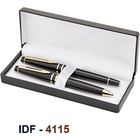 NI-4115 Metal Pen Set Of 2 Matt Finish
