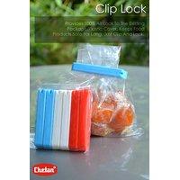 CHETAN BRAND CLIP LOCK, BAG LOCK , 24 PC SET.