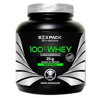 Six Pack Nutrition 100% Whey,2 Kg Straberry