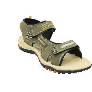 ABS Men's Camel & Beige Classy Sandals