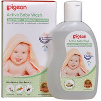 Pigeon Active Baby Body Wash (200 Ml)