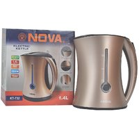 Nova 1.4L Capacity Electric Cordless Kettle - With Detachable Water Filter